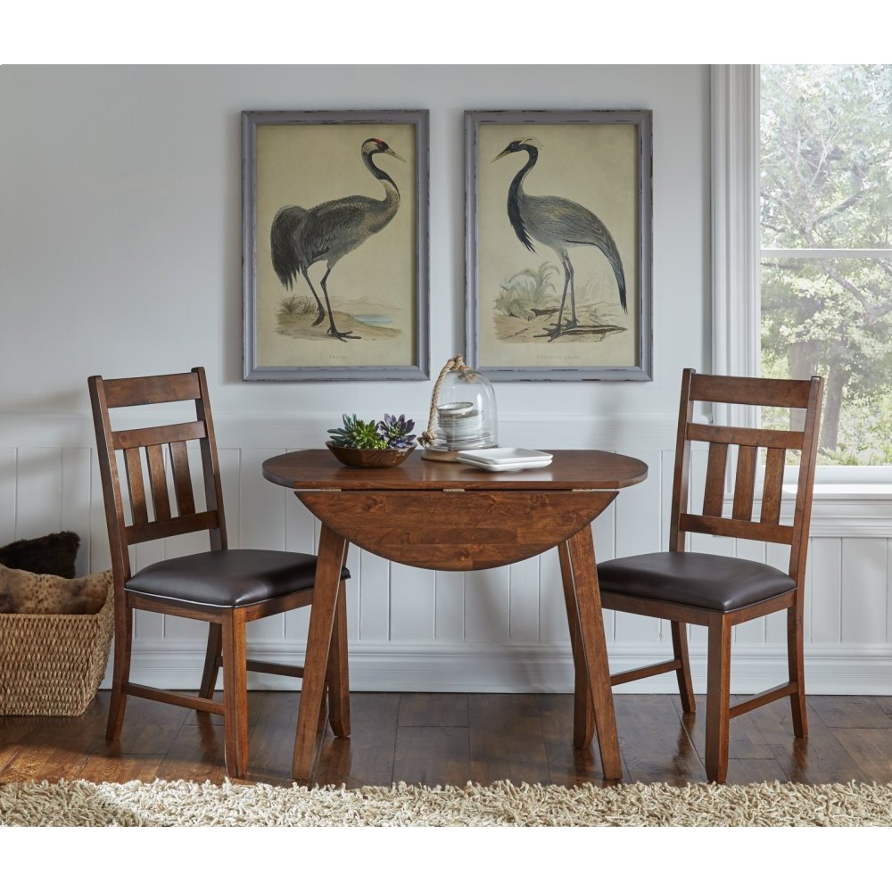 Drop Leaf Table with 2 Chairs
