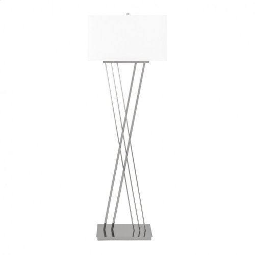 Straight Chrome - 3 Brightness Settings- Floor Lamp