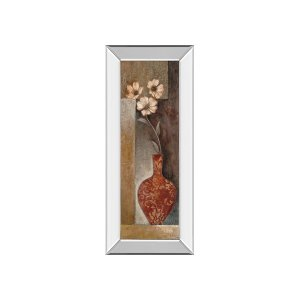 Baroque Floral II By Rosie Abrahams (mirrored Frame)