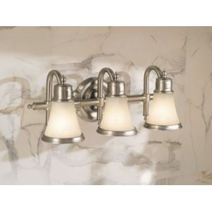Waterhill chrome bath light