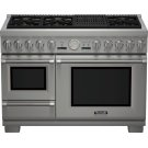 48-Inch Pro Grand® Commercial Depth Dual Fuel Steam Range Product Image