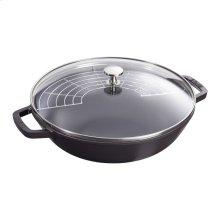 Staub Cast Iron 4.5-qt Perfect Pan, Black Matte