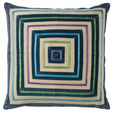 Zoe Pillow, TEAL, 22X22