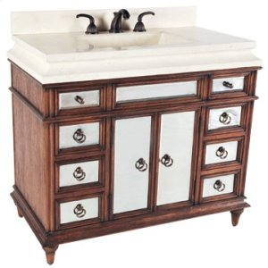 Salone Sink Chest - Honey