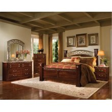 Standard Furniture 57200 Triomphe  Poster  Bedroom set Houston Texas USA Aztec Furniture
