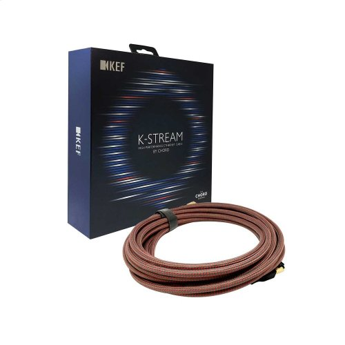 Black/Blue K-Stream High Performance 6m Interconnect Cable