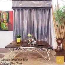 Mesquite Wood Rectangular Coffee Table