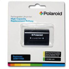 Polaroid High Capacity Sony FV50 Rechargeable Lithium Replacement Battery
