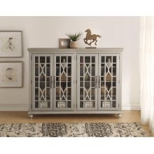 Anthology Meghan Silver 4-Door Chest