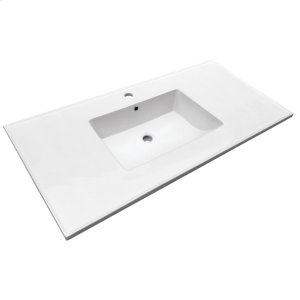 "Hartley 49"" Vanity Top - Single Hole Product Image"