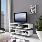 "Amble 47"" TV Stand in White Product Image"