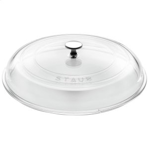 Staub Cast Iron 12-inch Glass Lid domed made of glass Product Image