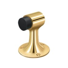 Floor Mount, Bumper, HD, Solid Brass - PVD Polished Brass