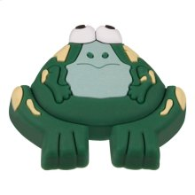 Kids Green Frog Cabinet Knob