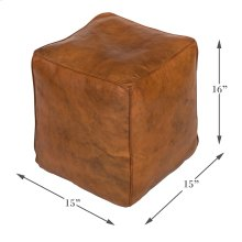 Sunday Afternoon Leather Cube