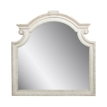 Mirror, available in Antique White only.