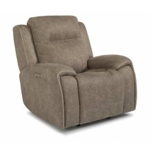 Solo Fabric Power Gliding Recliner with Power Headrest
