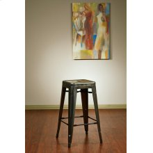 "Bristow 26"" Barstools, Gun Metal Finish. 4 Pack"