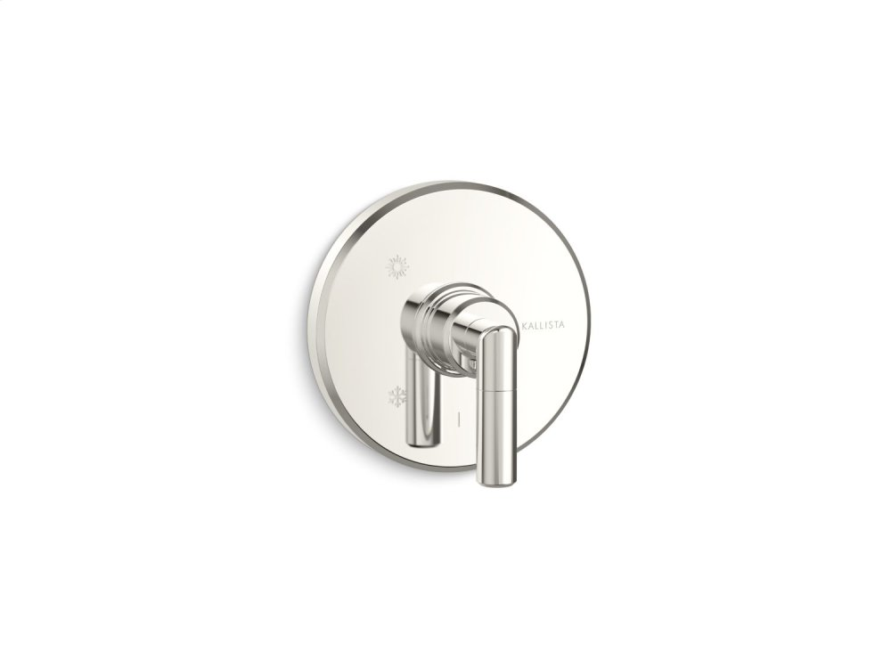 Pressure Balance Trim, Lever Handle - Nickel Silver