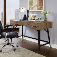 Surplus Office Desk in Walnut
