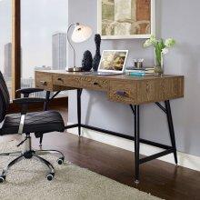 Surplus Office Desk in Walnut