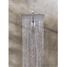 Head shower, wall mounted - Grey