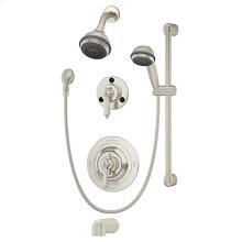 Symmons Water Dance® Tub/Shower/Hand Shower System - Satin Nickel