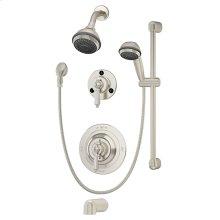 Symmons Water Dance® Tub/Shower/Hand Shower System - Satin Nickel