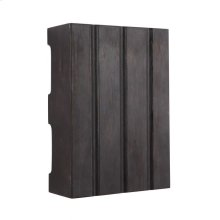 Hand-Hewn Design Chime in Ebony