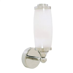 Astoria Single Wall Light With Frosted Glass Shade Product Image