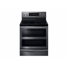 5.9 cu. ft. Freestanding Electric Range with Flex Duo & Dual Door in Black Stainless Steel