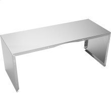 """Full Width Duct Cover - 48"""" Stainless Steel"""