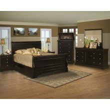 Bella Rose Queen Sleigh Bed
