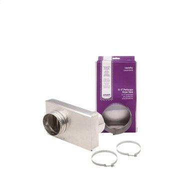 Smart Choice Adjustable Dryer Vent 0-5'' Periscope