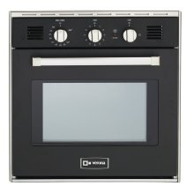 "Black 24"" Gas Wall Oven"