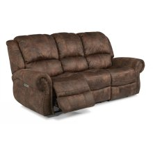 Patton Fabric Power Reclining Sofa with Power Headrests