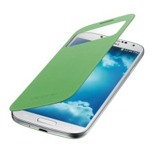 Galaxy S 4 S-View Flip Cover, Green