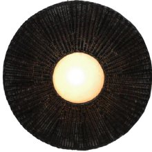 (LS) Emerald Decorative Wall Lamp - Dark (L) (43x10x43)