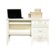 Desk With Pull Out Tray and Extra Deep Drawers