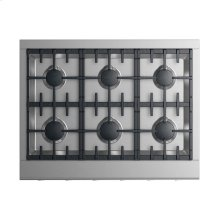 "Gas Rangetop 36"", 6 burners"