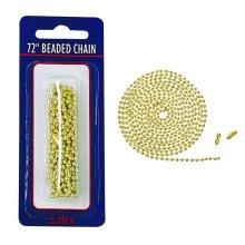 "72"" Beaded Chain"