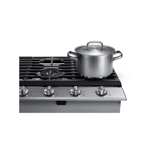 """30"""" Gas Cooktop in Stainless Steel"""