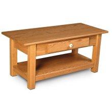 Della 1-Drawer Coffee Table