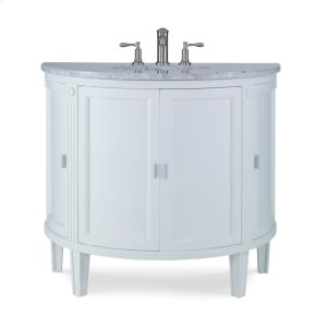 Park Avenue Sink Chest - White Product Image