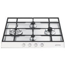"Gas Cooktop, 60 cm (approx. 24""), White"
