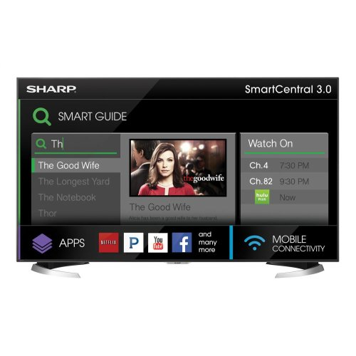 """Sharp 70"""" Class AQUOS 4K Ultra HD Smart TV"""