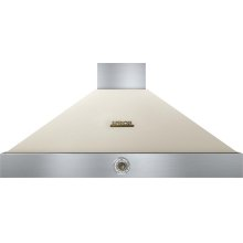 Hood DECO 48'' Cream matte, Bronze 1 blower, analog control, baffle filters