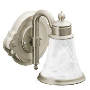 Waterhill brushed nickel bath light Product Image