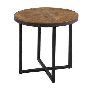 Denton Round End Table