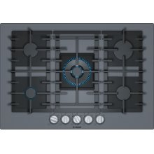 Benchmark® Gas Cooktop 30'' dark silver